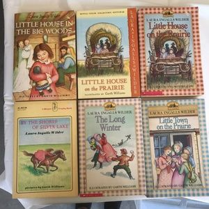 Other - Little House On The Prairie Books